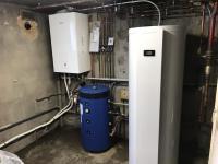 Installation d'une pompe à chaleur PANASONIC de 16kw à St MARTIN D'HERES 38400