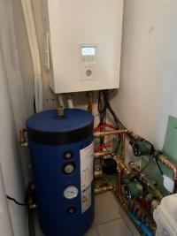 Installation d'une pompe à chaleur Panasonic de 9kw à BEAUREPAIRE 38270 ISERE