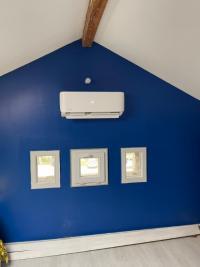 Installation d'une pompe à chaleur Air Air à la TOUR DU PIN 38110 ISERE