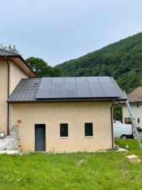 Installation de panneaux photovoltaïques de 6KWC  à MONNETIER MORNEX 74560