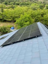 Installation de panneaux photovoltaïques d'une puissance de 9KWC  à Valdeblore 06420