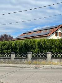Installation d'un kit photovoltaïque d'une puissance de 9KWC à PONT DE CLAIX 38800 ISERE